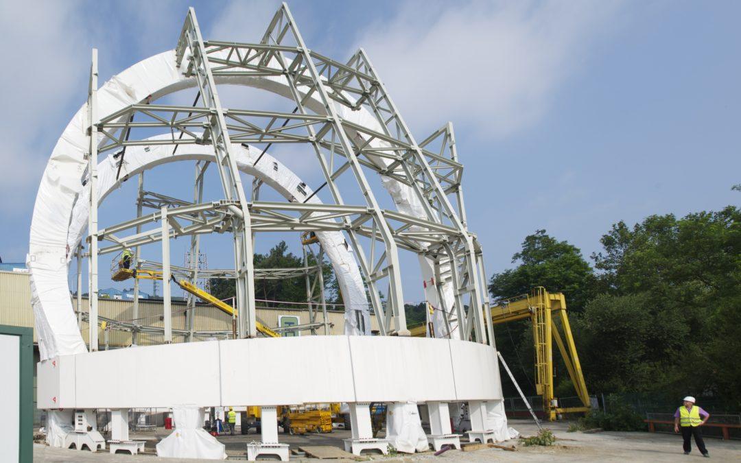 Entrega de la Cúpula del Telescopio Solar ATST