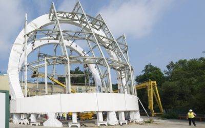 DOME STRUCTURE FOR THE ATST SOLAR TELESCOPE