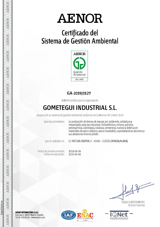 ISO 14001.2015 castellano