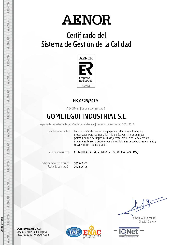 ISO 9001.2015 castellano