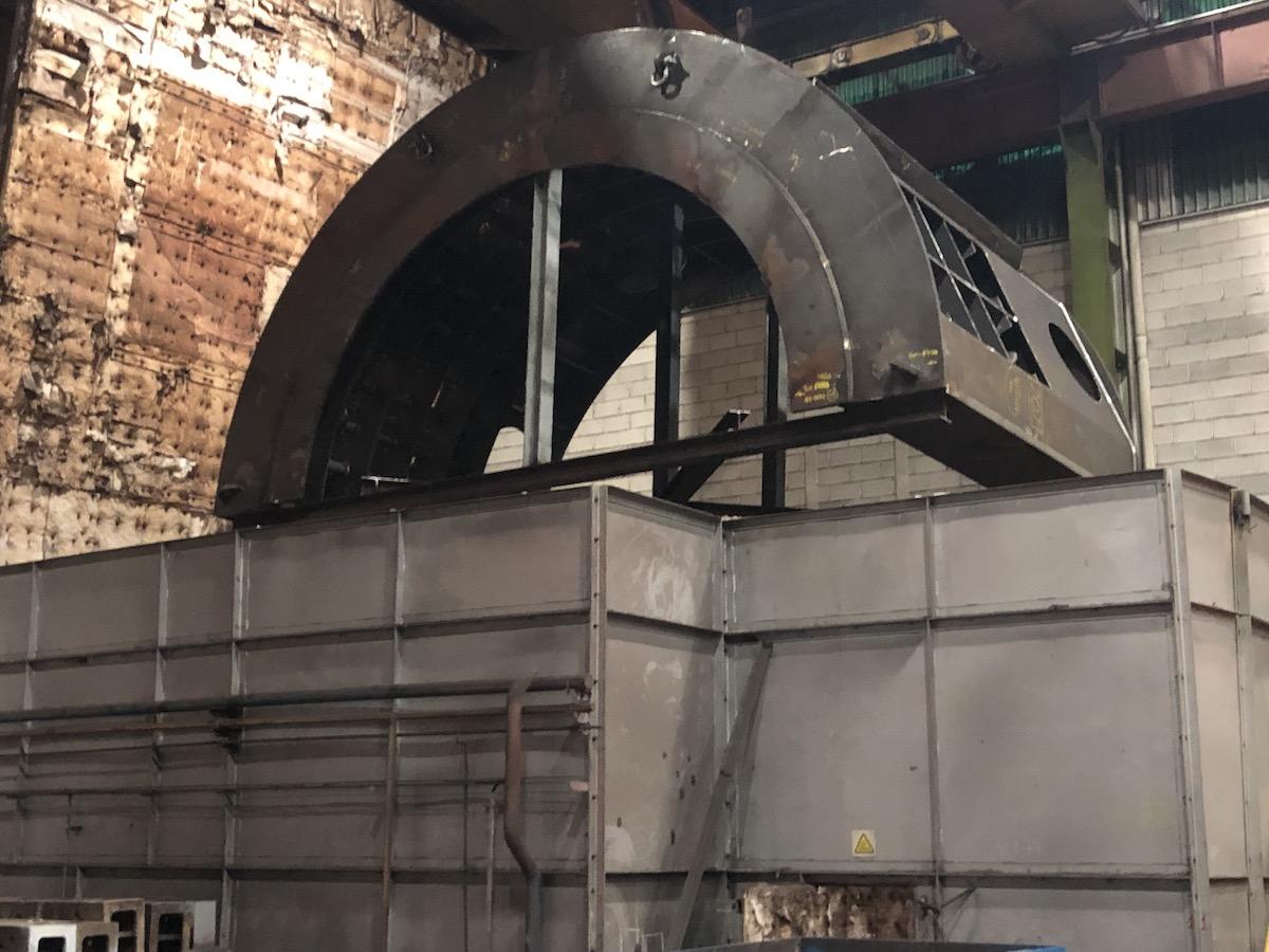 Horno de tratamiento térmico en Gometegui Industrial