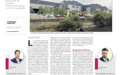 A relevant spanish newspaper writes about the growth of Gometegui